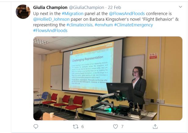 Presentation on Twitter